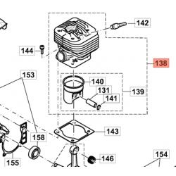 Cylindre ET Piston CPL  PC8116D 183H01-2